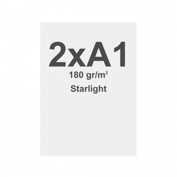 Tessuto stampabile per T-Frame - Starlight 180 g/m² 2 x A1