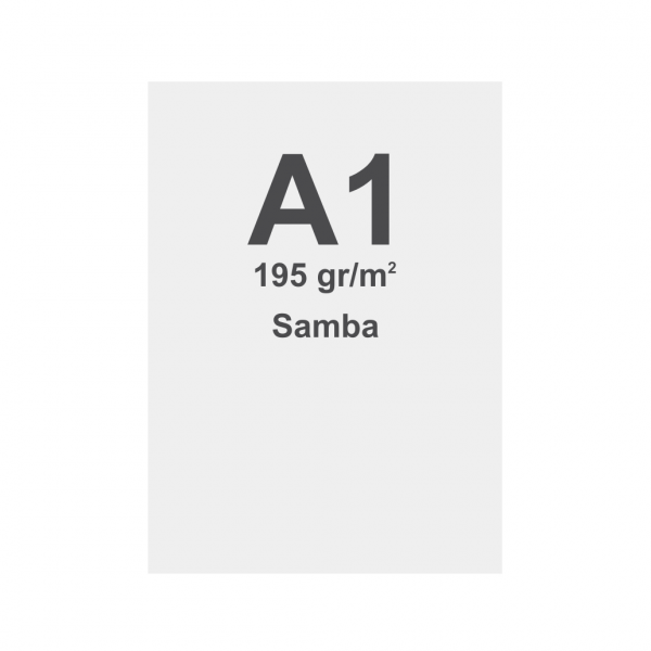Fabric Frame Graphic Samba