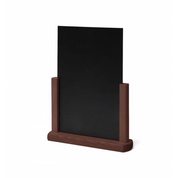 Lavagnetta da tavolo A4 marrone scuro