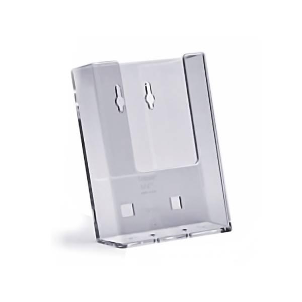 Porta depliant da partete A6 verticale