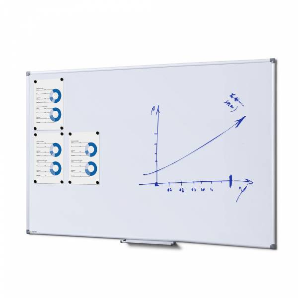 Lavagna bianca magnetica 100x150 SCRITTO®