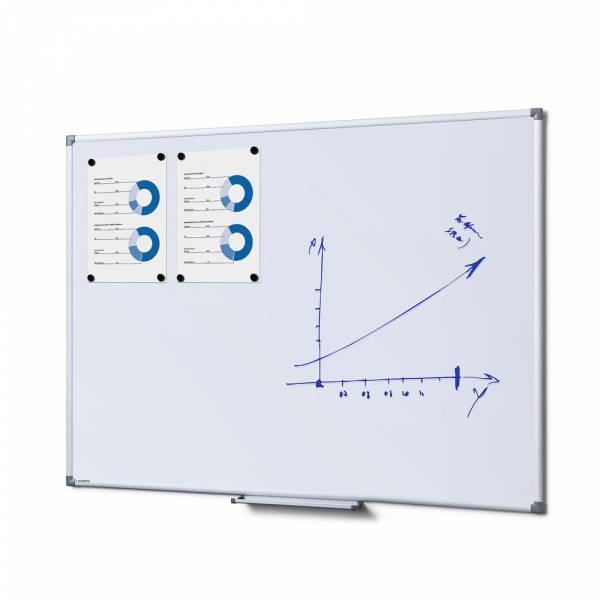 Lavagna bianca magnetica 90x120 SCRITTO®