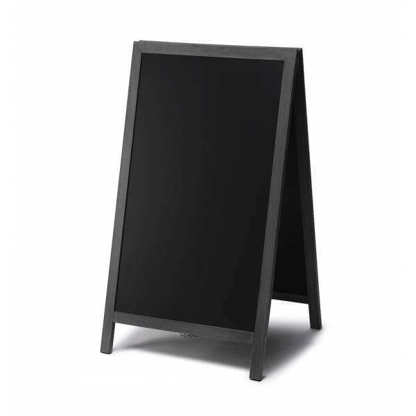 Lavagna con cavalletto 68x120 colore nero