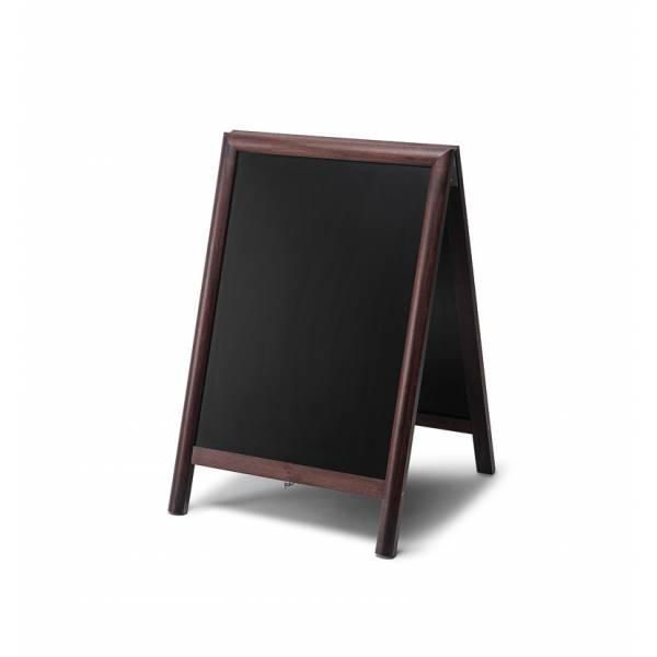 Lavagna con cavalletto 55x85 colore marrone scuro