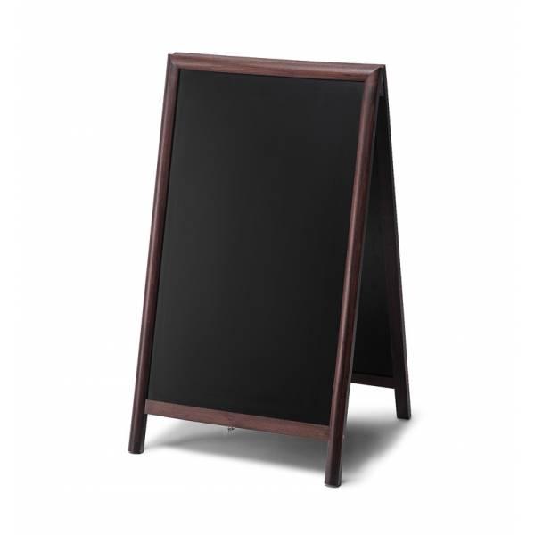 Lavagna con cavalletto 68x120 colore marrone scuro
