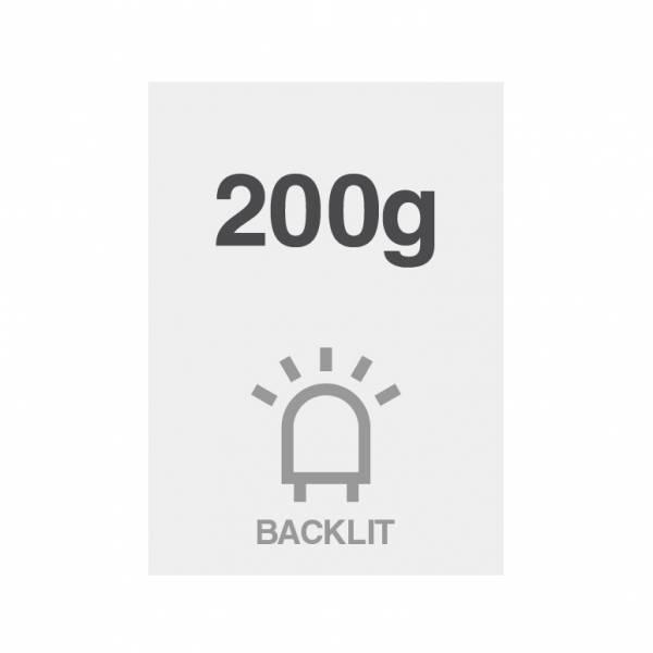 Pellicola Backlit Premium 200g/m2, superficie satinata