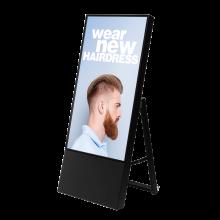 Cavalletto digitale con monitor 43' Smart Line